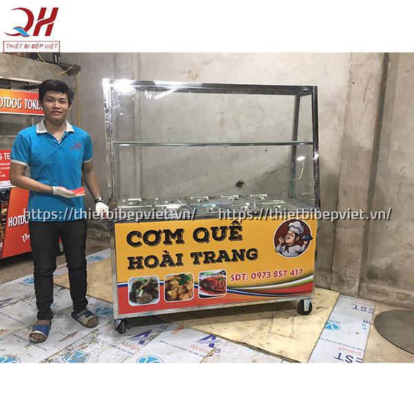 Tủ bán cơm inox Quang Huy có giá tốt nhất thị trường hiện nay