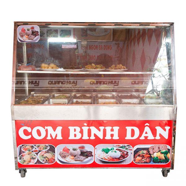 Xe bán cơm Quang Huy