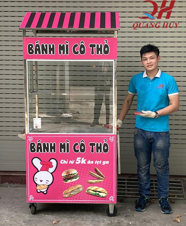 Xe bánh mì mini giá rẻ