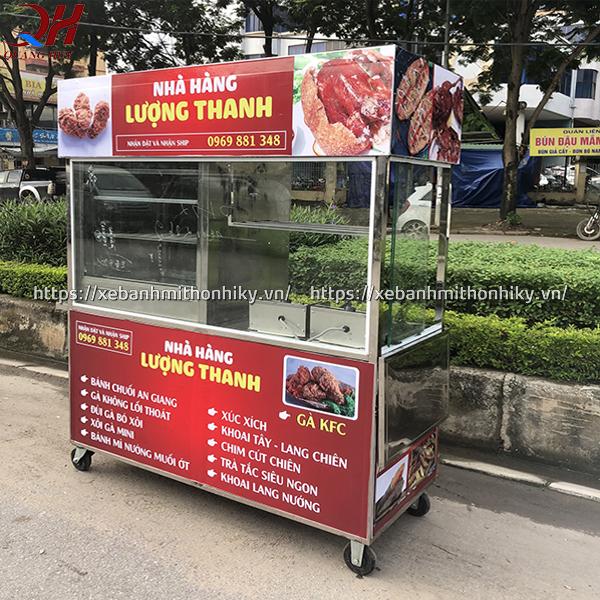 Những yếu tố ảnh hưởng đến giá xe bán đồ ăn vặt của Quang Huy