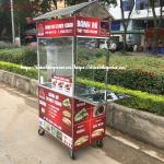 Xe Bánh Mì Doner Kebab 90Cm Mẫu Mới 2020