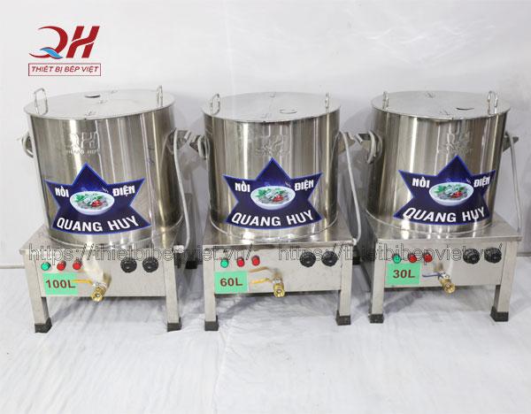 Bộ nồi nấu bún phở bằng điện Quang Huy
