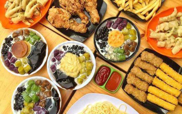 Các món đồ ăn vặt cho học sinh viên