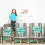 Mẫu nồi nấu phở bằng điện Quang Huy sản xuất và phân phối tại xưởng