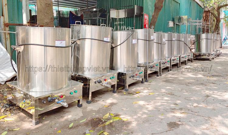 Nồi điện cơ khí Quang Huy gia công sản xuất