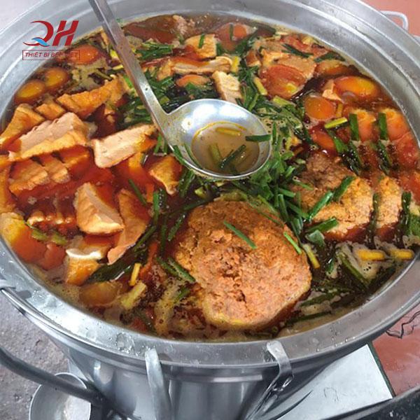 Nồi nấu bún riêu bằng điện Quang Huy