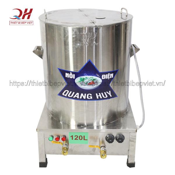 Nồi nấu phở điện 2 ngăn Quang Huy