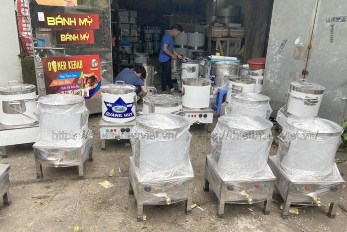Xưởng gia công nồi phở điện Quang Huy