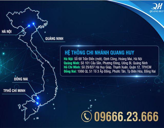 Hệ thống chi nhánh Quang Huy