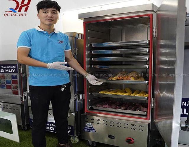 Hướng dẫn cách sử dụng tủ nấu cơm công nghiệp