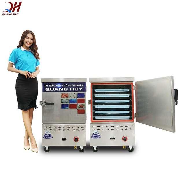 Hướng dẫn cách bảo quản tủ cơm 6 khay gas