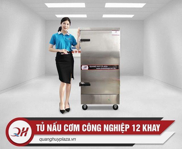 Quang Huy đia chỉ phân phối tủ cơm 12 khay điện uy tín