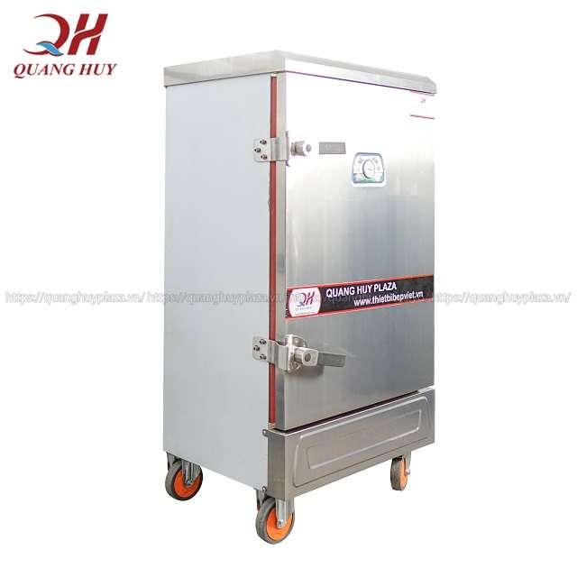 Quang Huy địa chỉ phân phối tủ nấu cơ 8 khay chạy điện uy tín