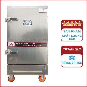 Tủ nấu cơm công nghiệp 10 khay bằng điện