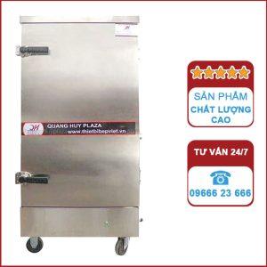 Tủ nấu cơm công nghiệp 12 khay bằng điện