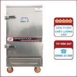 Tủ nấu cơm công nghiệp 8 khay bằng điện
