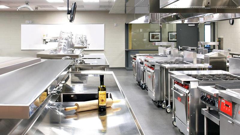 Bếp ăn công nghiệp trong các nhà hàng, quán ăn