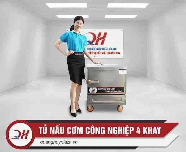 Giá bán tủ nấu cơm 4 khay điện