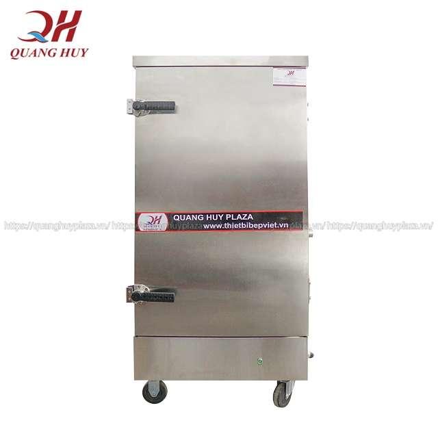 Tủ nấu cơm 12 khay điện inox 3 lớp cách nhiệt