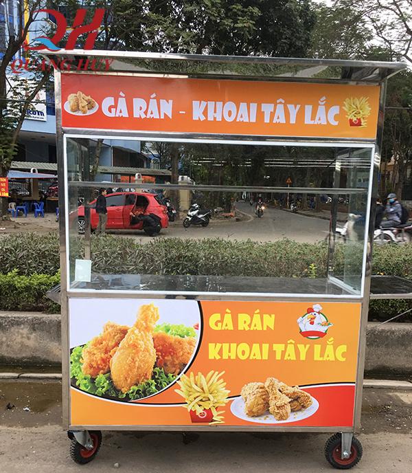 Xe bán gà rán được sản xuất và phân phối bởi Quang Huy