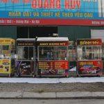 Quang Huy thương hiệu sản xuất, phân phối tủ bán bánh mì uy tín