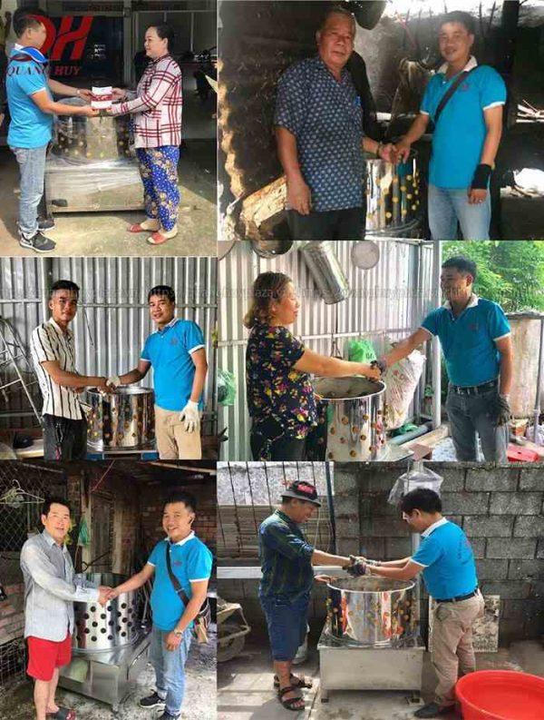 Quang Huy trở thành đối tác khách hàng trên Toàn Quốc