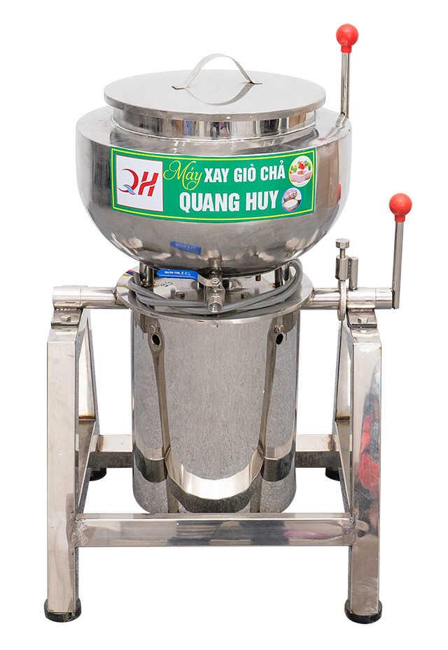 Chi tiết máy xay giò chả 25 kg