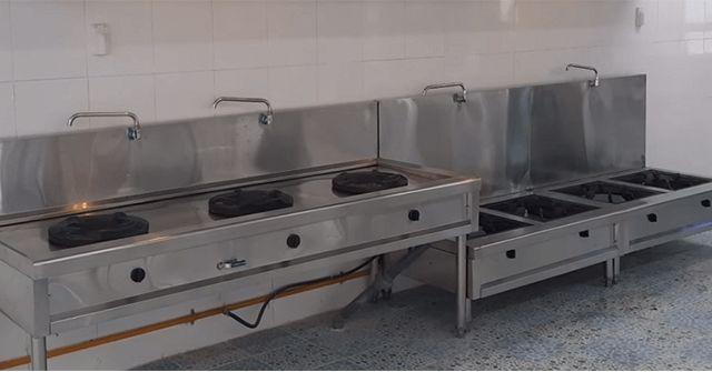 Báo giá bếp xào công nghiệp mới nhất
