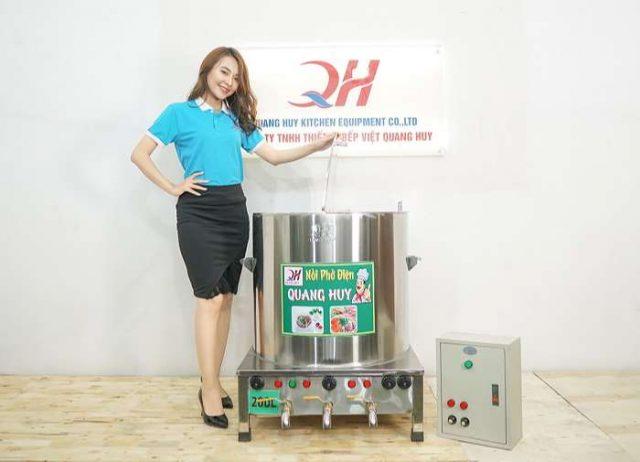Quang Huy địa chỉ đồng sản xuất và phân phối nồi nấu phở uy tín