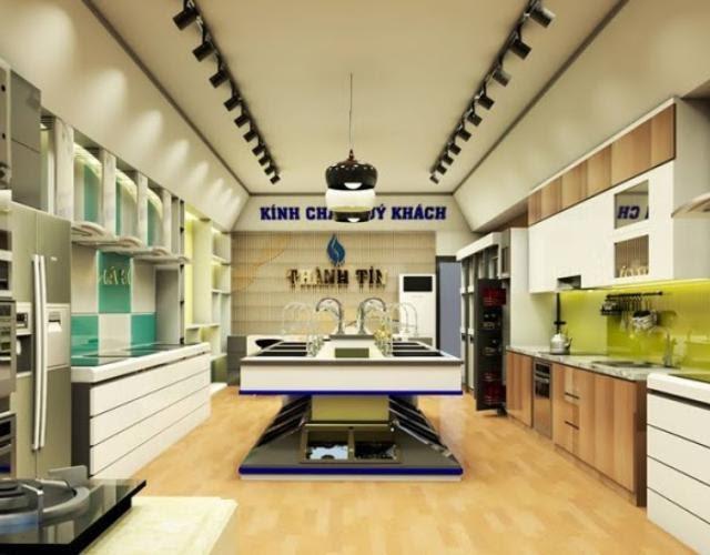 Showroom bếp Thành Tín