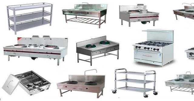 Các sản phẩm thiết bị bếp công nghiệp tại Quang Huy