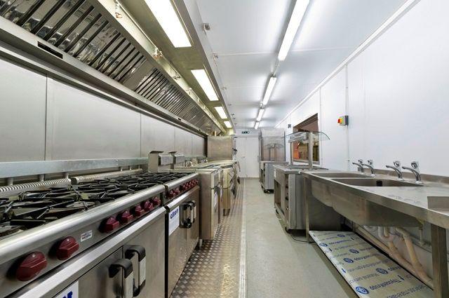 Thiết kế bếp ăn công nghiệp cần lưu ý điều gì
