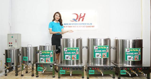 Chọn thương hiệu nồi phở uy tín, Thương hiệu nồi nấu phở Quang Huy