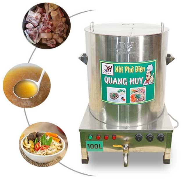 Công thức nấu phở bò Hà Nội kinh doanh với nồi điện nấu phở