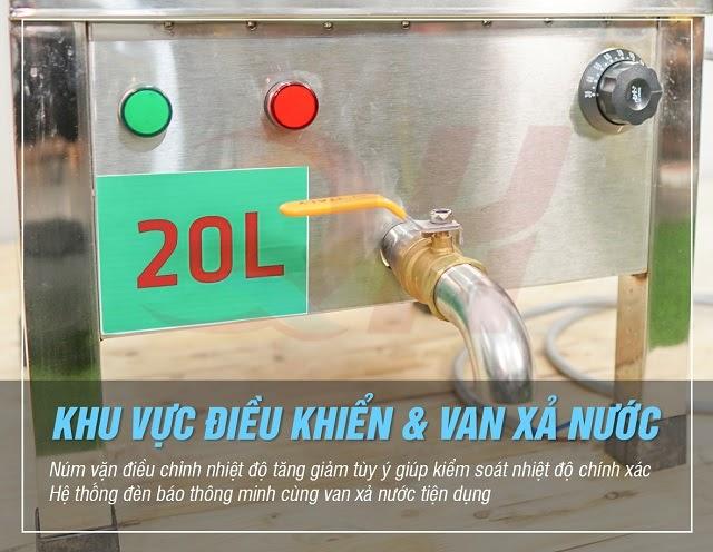 Van xả nước thông minh