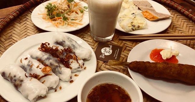 Bánh cuốn Bà Hanh, quán bánh cuốn ngon tại hà nội