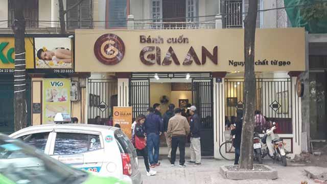 Những quán bánh cuốn ngon tại Hà Nội, địa chỉ quán bánh cuốn ngon Hà Nội