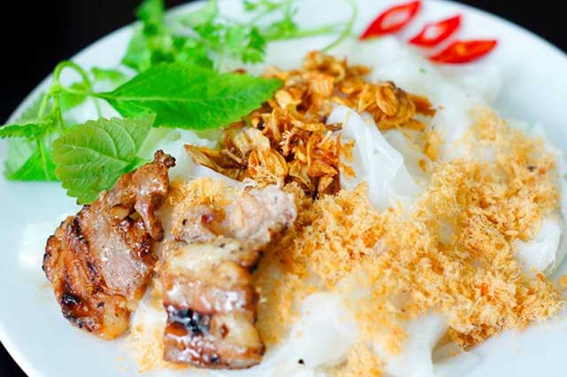 Món bánh cuốn Gia An thơm ngon, địa chỉ quán bánh cuốn ngon tại Hà Nội