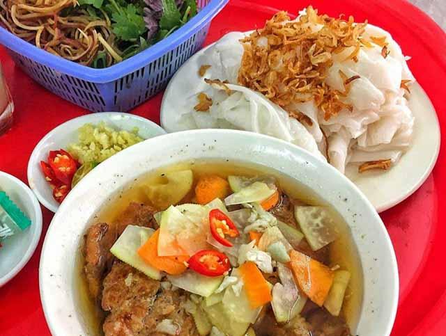 Bánh cuốn Phủ Lý, địa chỉ quán bánh cuốn ngon tại Hà Nội