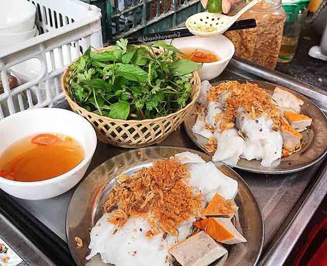 Bánh cuốn Phượng, quán bánh cuốn ngon tại Hà Nội