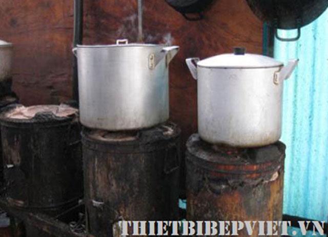Nồi nấu cháo truyền thống, nồi hầm cháo bằng than củi