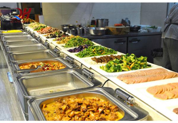 Nhờ có tủ giữ nóng mà thực phẩm được đảm bảo hơn