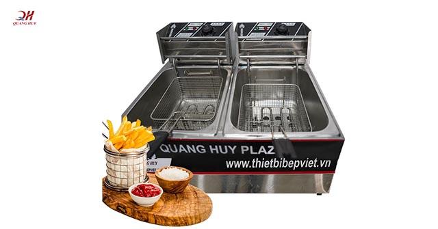 Bếp chiên nhúng Quang Huy, bếp chiên nhúng đà nẵng