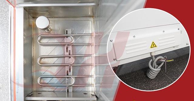 Công suất tủ nấu cơm, công suất tủ cơm công nghiệp là bao nhiêu