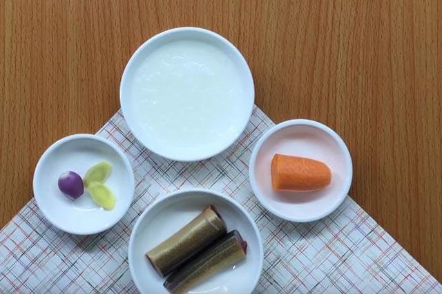 Nguyên liệu nấu cháo lươn cà rốt, chuẩn bị nguyên liệu nấu cháo lươn cho bé