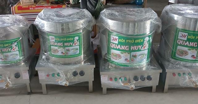 Xưởng sản xuất nồi phở của Quang Huy, địa chỉ mua nồi điện nấu phở buôn ma thuột